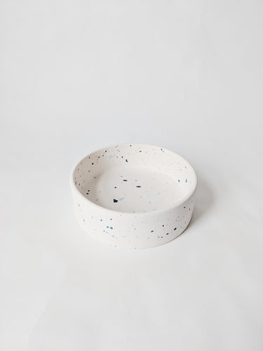 Mix Terrazzo Dog Food Bowl