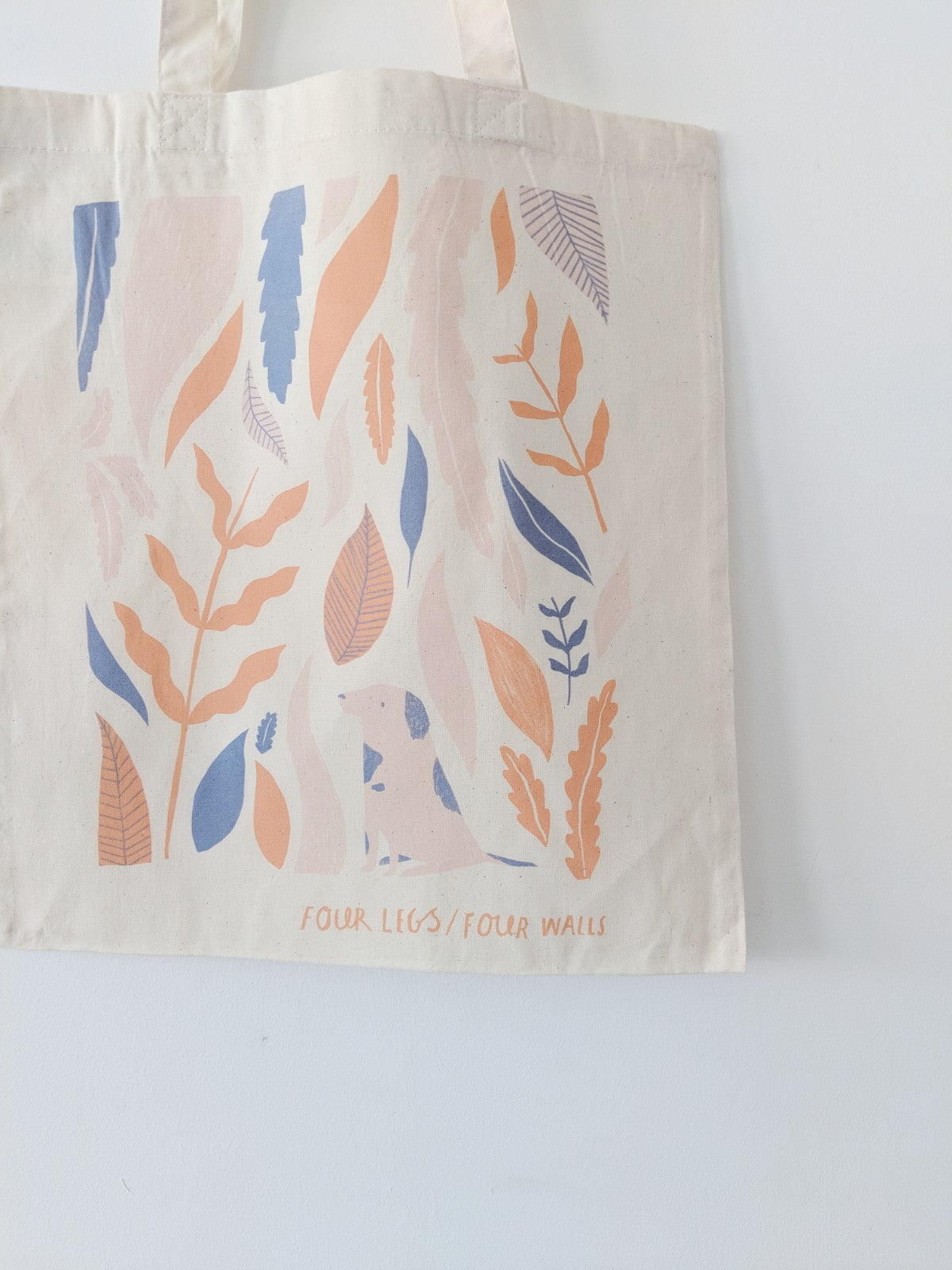 Cotton Shopper Tote Bag