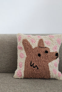 Tufted Dog Cushion