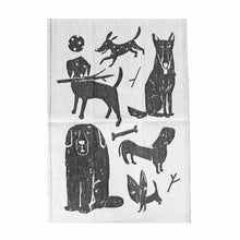 Dog Park Tea Towel