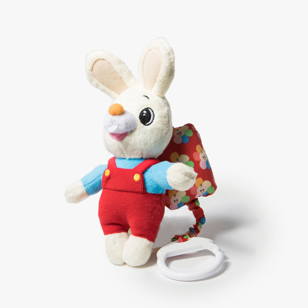 Harry The Bunny Plush Stroller Toy