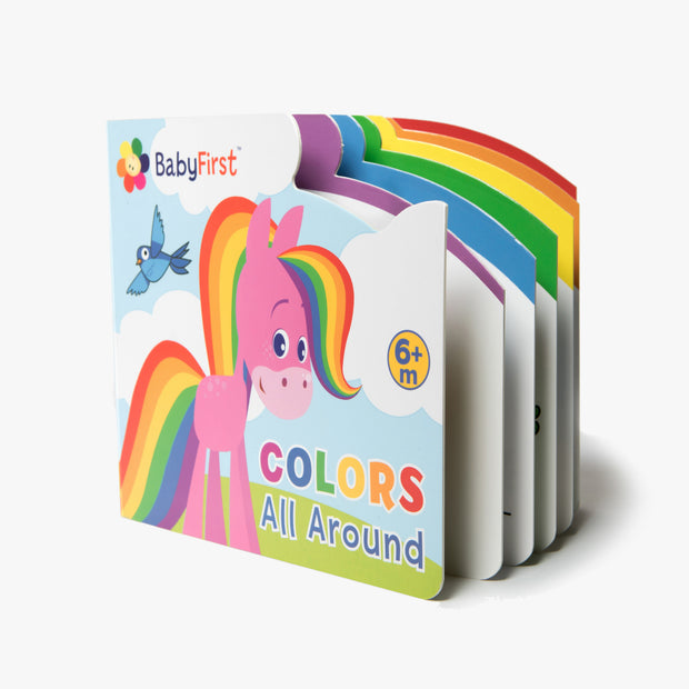 Colors All Around Board Book