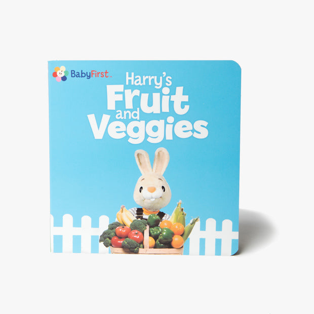 Harry's Fruit And Veggies Board Book