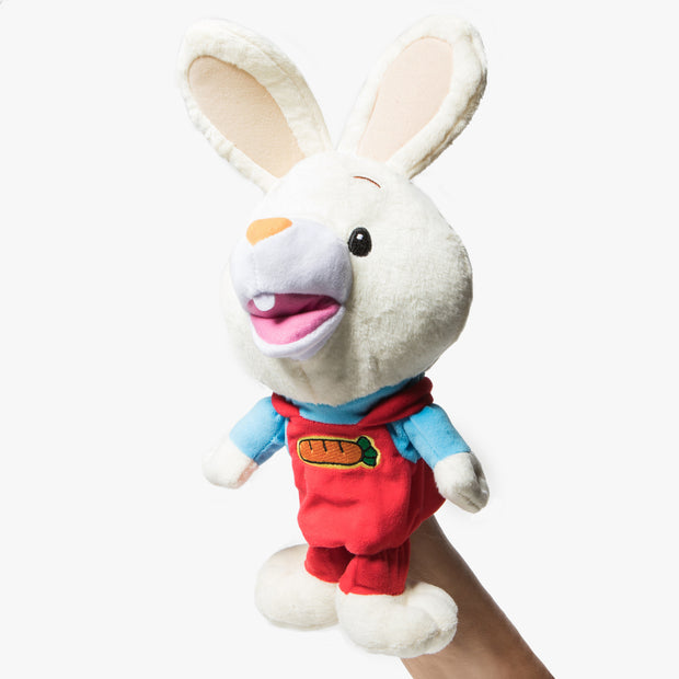 Harry The Bunny Talking Hand Puppet