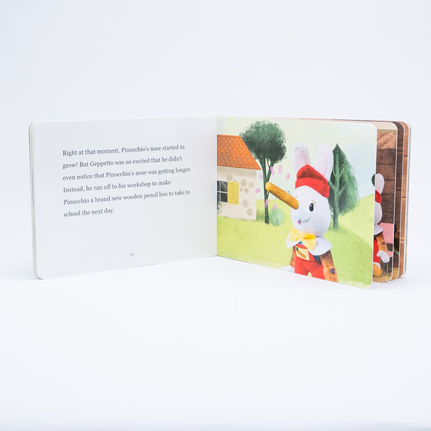 Pinocchio Board Book