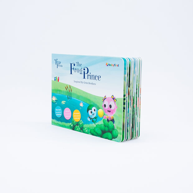The Frog Prince Board Book