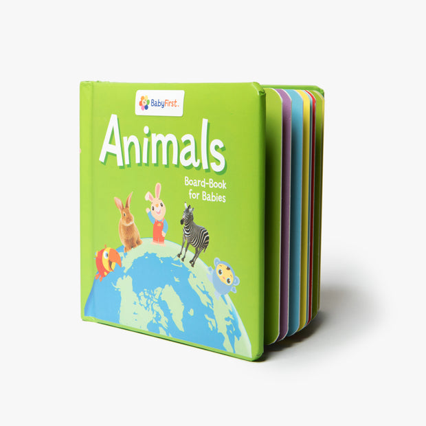 My First Animals Board Book