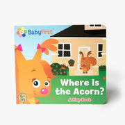 Where Is The Acorn? Flap Board Book