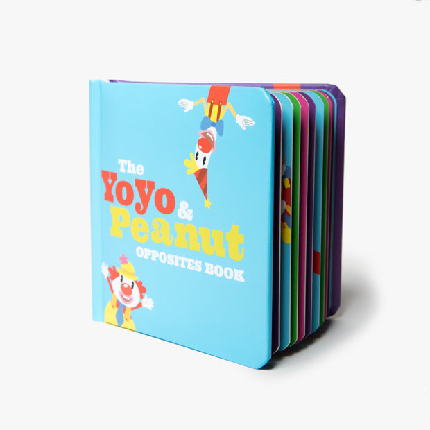 The Yoyo & Peanut Opposites Board Book