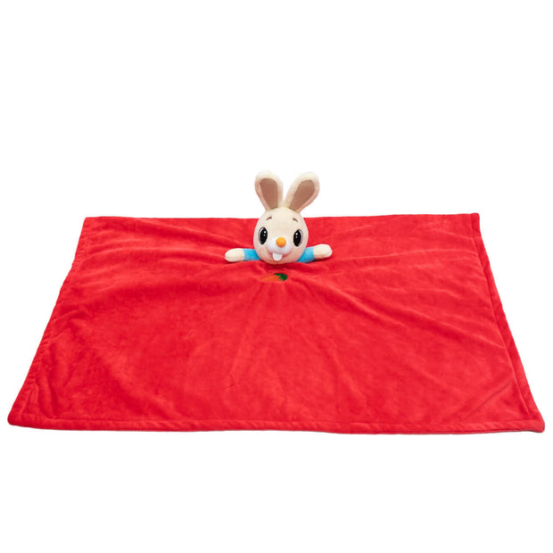 Harry The Bunny Plush Lovey Blanket