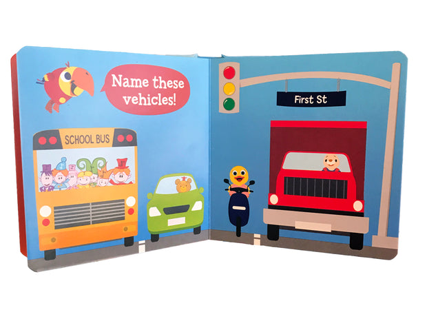 VocabuLarry's Cars & Trucks Board Book