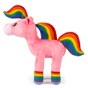 Large Rainbow Horse Plush Toy