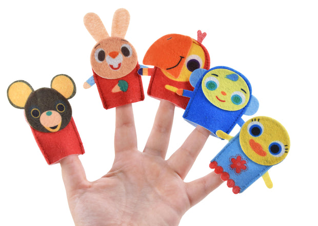 Harry The Bunny & Friends Finger Puppets