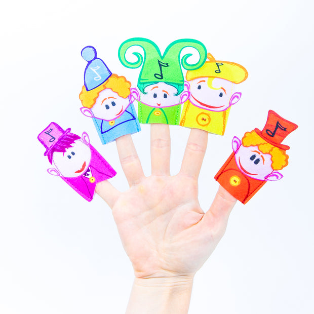 Notekins Finger Puppets