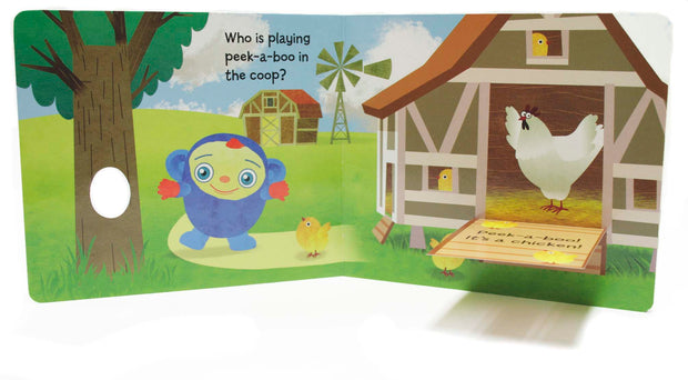 Peek-A-Boo Farm Flap Board Book