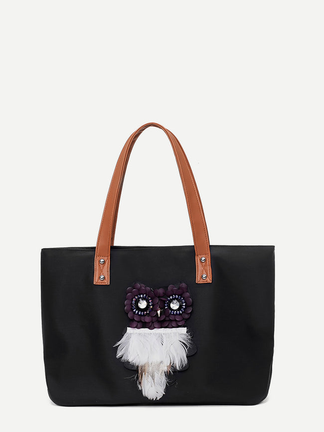 Owl Decor Tote Bag