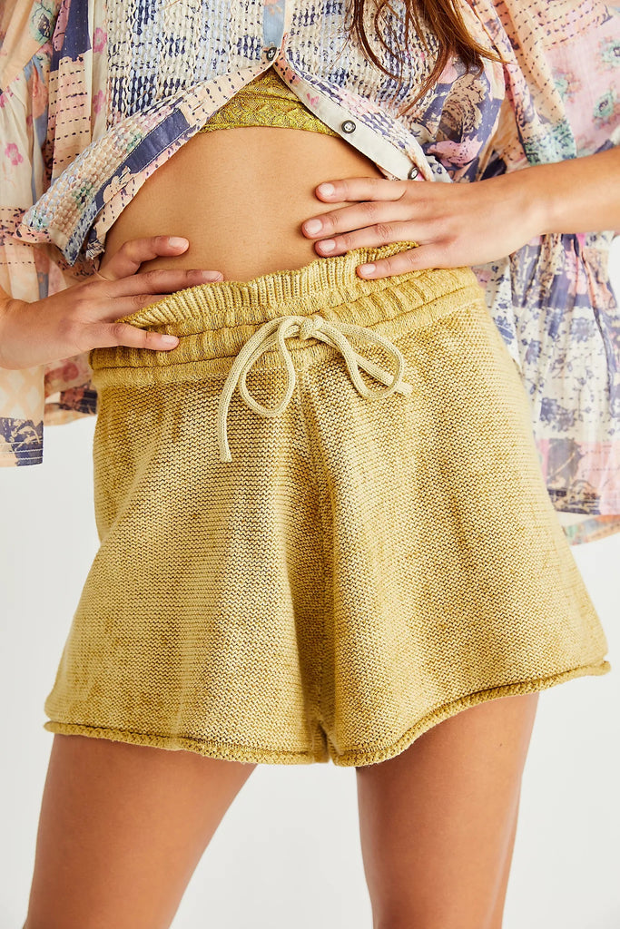 Summertime Blues Knit Shorts