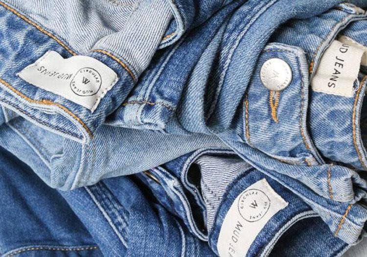 close up blue denim jeans