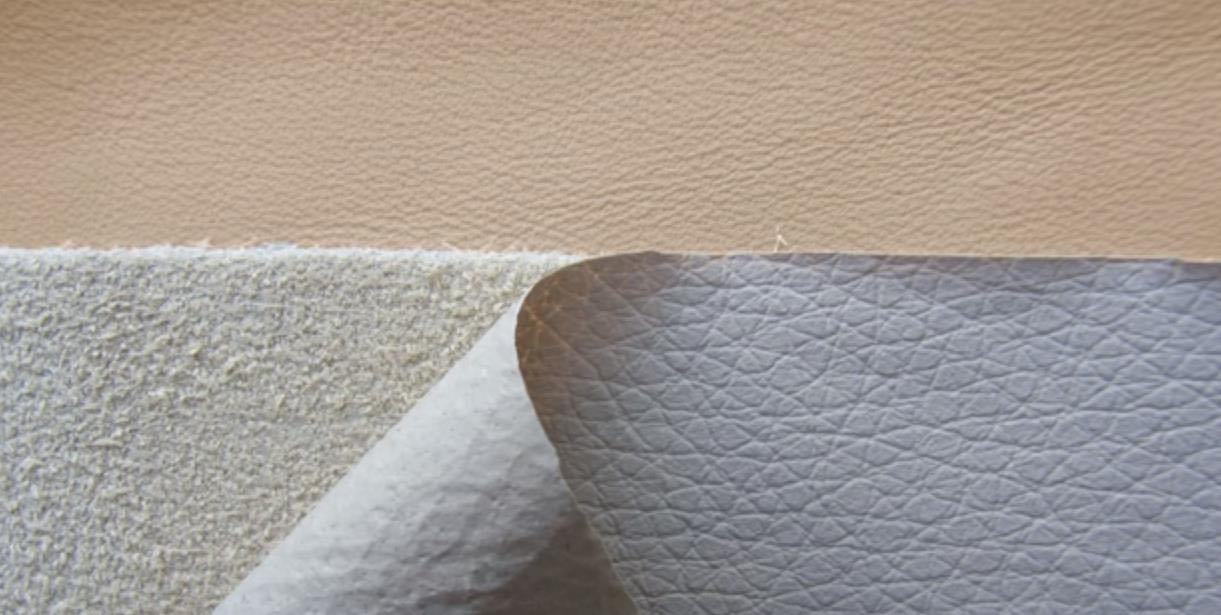 faux leather sustainable fabric