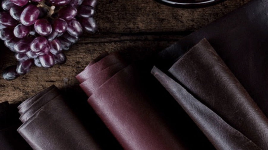 grape leather innovative sustainable material
