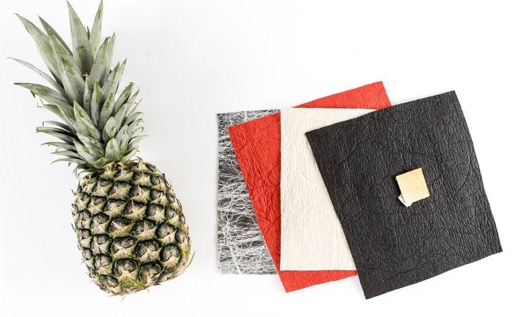 pinatex pineapple leaf leather material