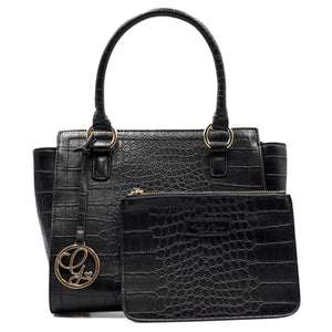 Load image into Gallery viewer, Bravia Onyx Handbag