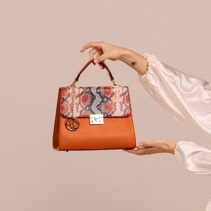 Load image into Gallery viewer, Paradisio Polished Satchel