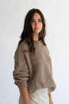 Tahi Jumper - Brown Blend