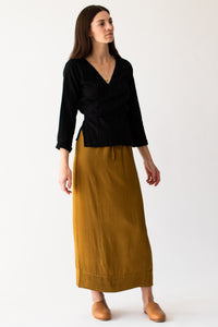 Bine skirt - Earth green
