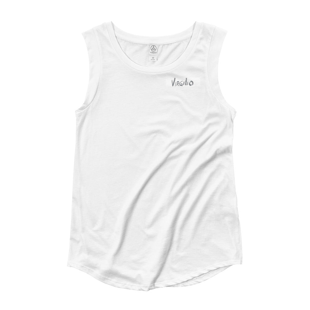 VIRGILIO Ladies' Cap Sleeve T-Shirt