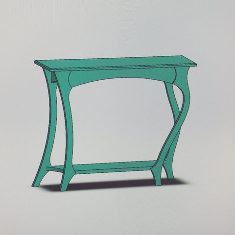 The Dancing Table - Furniture design in progress by Vincent Leman