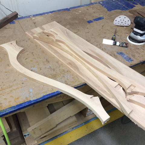 The Dancing Table - Parts are CNC cut and ready to build