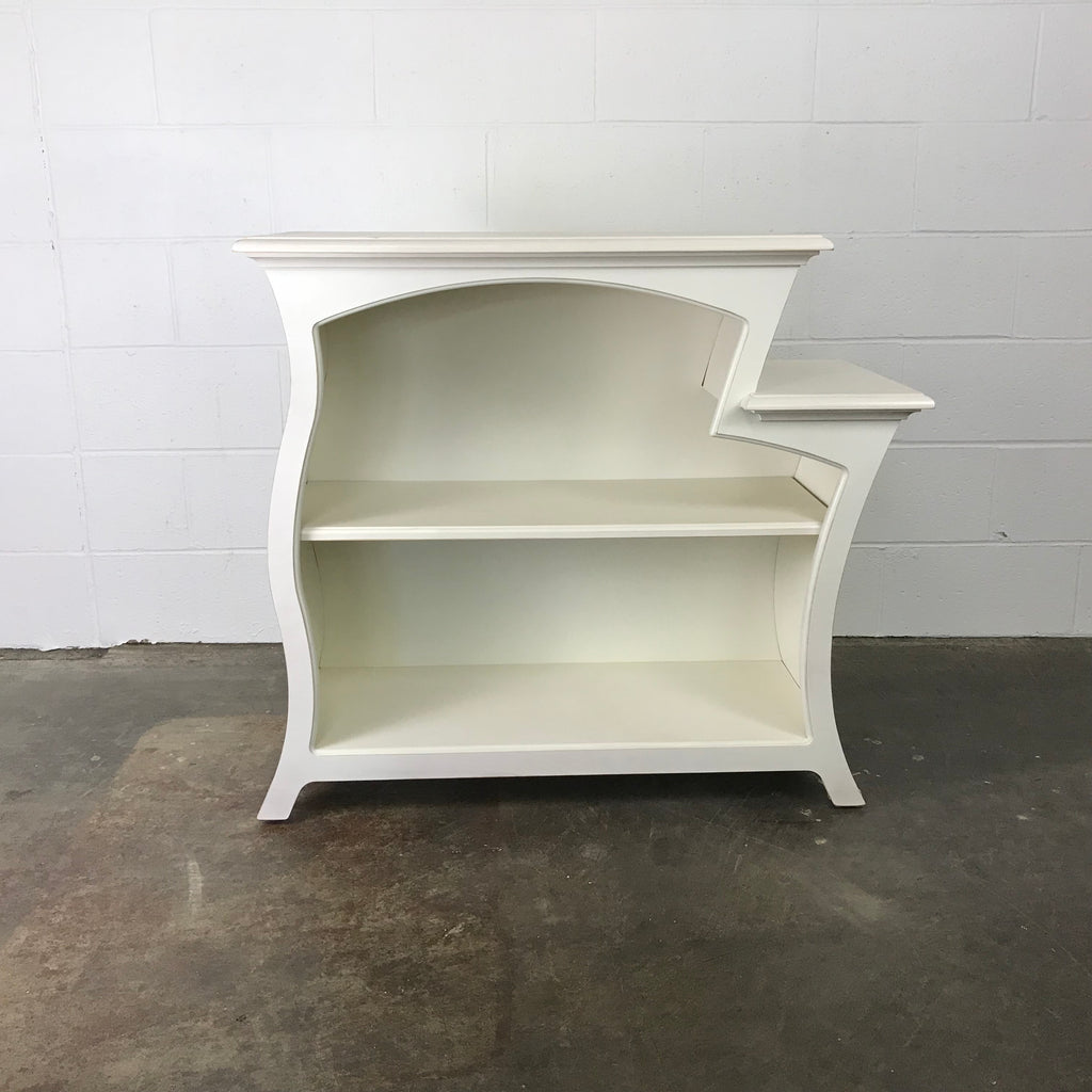 Bookcase No. 6 - Curved Accent Bookcase