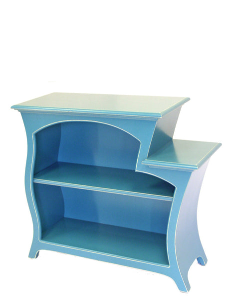 curved bookcase no.6 by dust furniture*:  abstract furniture from designer Vincent Leman
