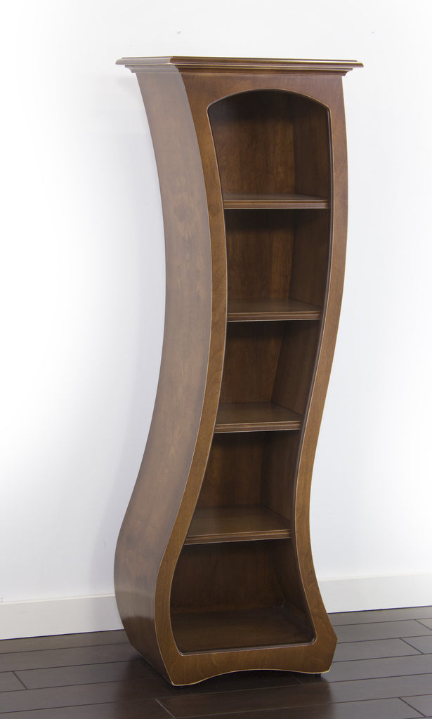 Curved Display Case - Bookcase No.5b