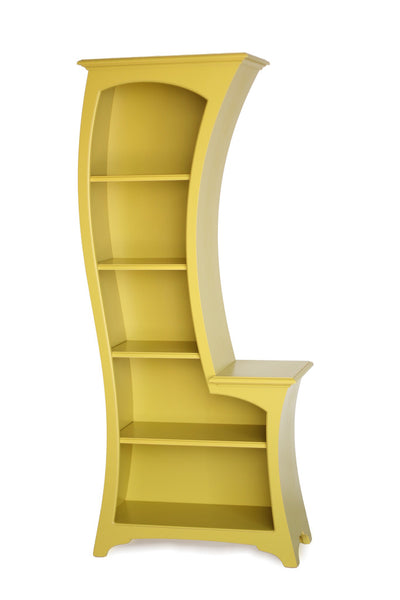 Bookcase No. 1 - Curved Display Bookcase