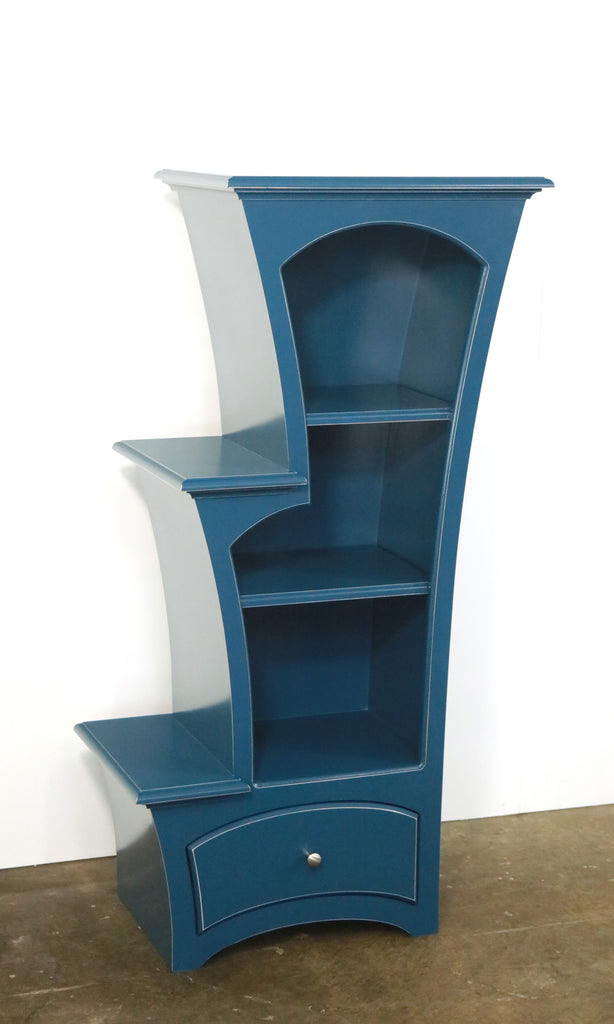 Bookcase No. 7 -  Stepped Display Bookcase