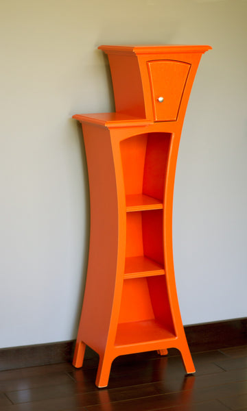 Custom accent furniture - Tangerine Tango - Cabinet No.4 by dust furniture*