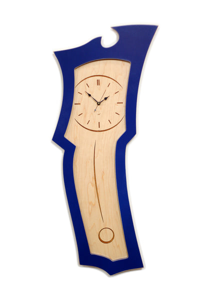 Clock No. 3 - Abstract Pendulum Wall Clock