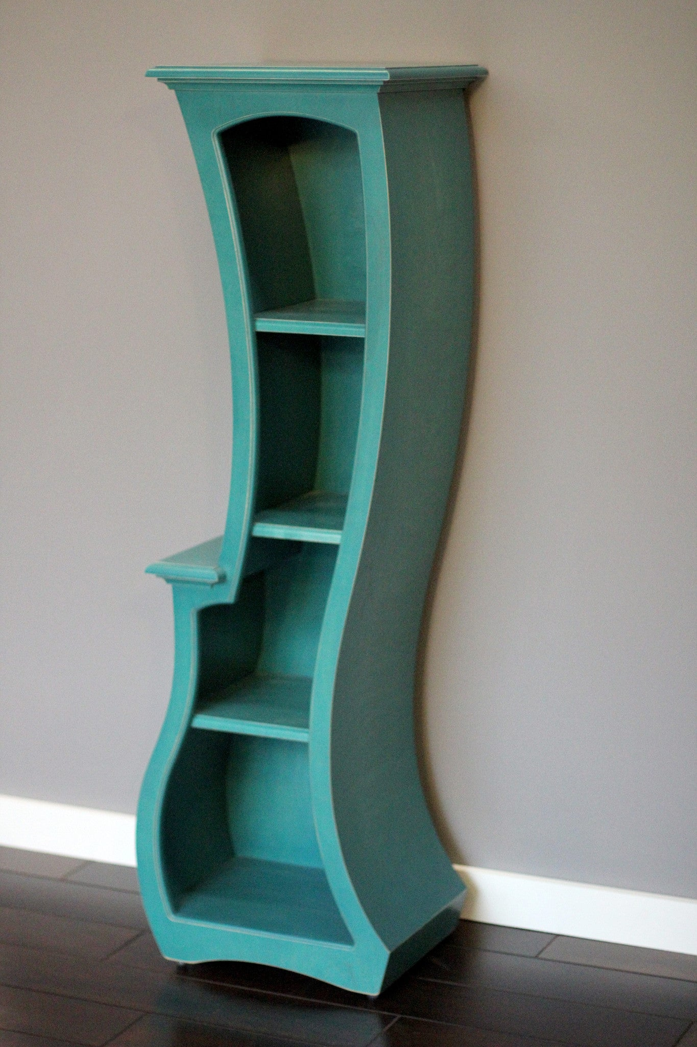 Bookcase No.5 by Vincent Leman - Abstract Traditional Furniture - Modern, Abstract Bookcase - Bookcase No.5 By Dust Furniture