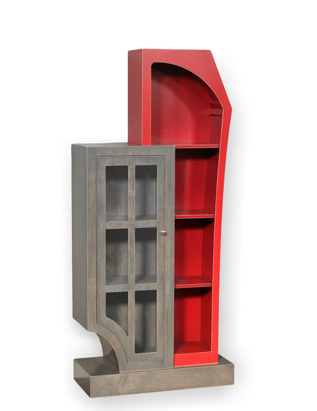 Les Amis - a sculptural cabinet design by Vincent Leman