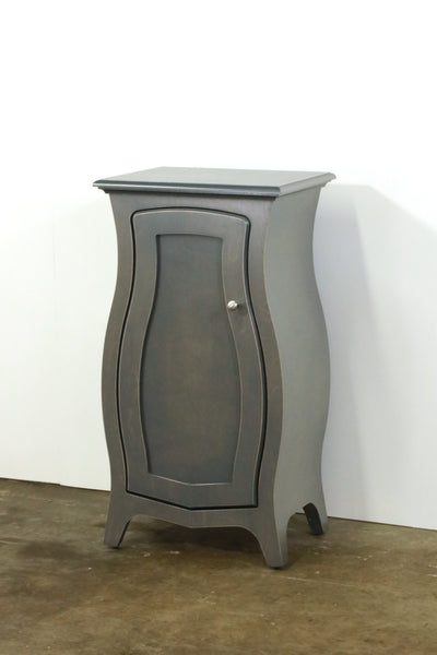 Bombay Cabinet - Curved Storage Cabinet with Door in the Color of Your Choice