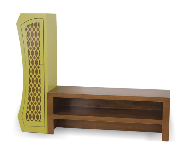 Stacked Media Console