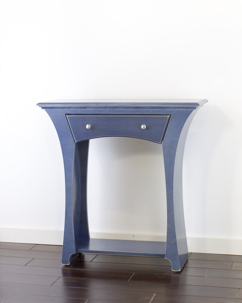 Table No.4 - 36inch Wide Version in Indigo Stain