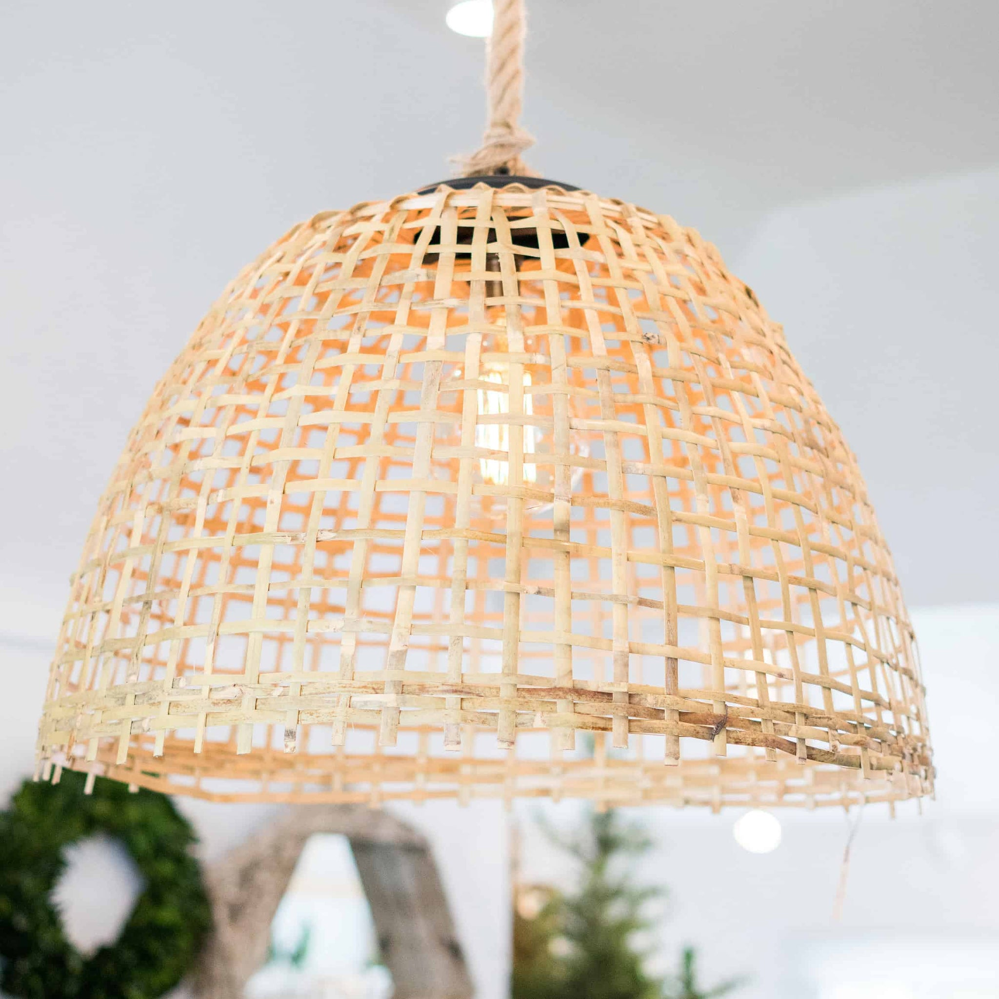 Basket Pendant Light
