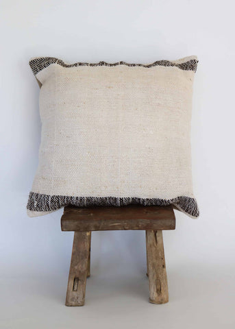 Vintage Hemp Kilim Pillow (E)