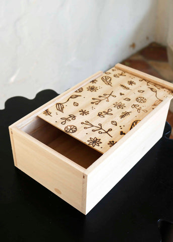 Rectangular Wooden Gift Box