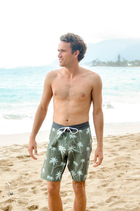 Green Palm | Boardshorts