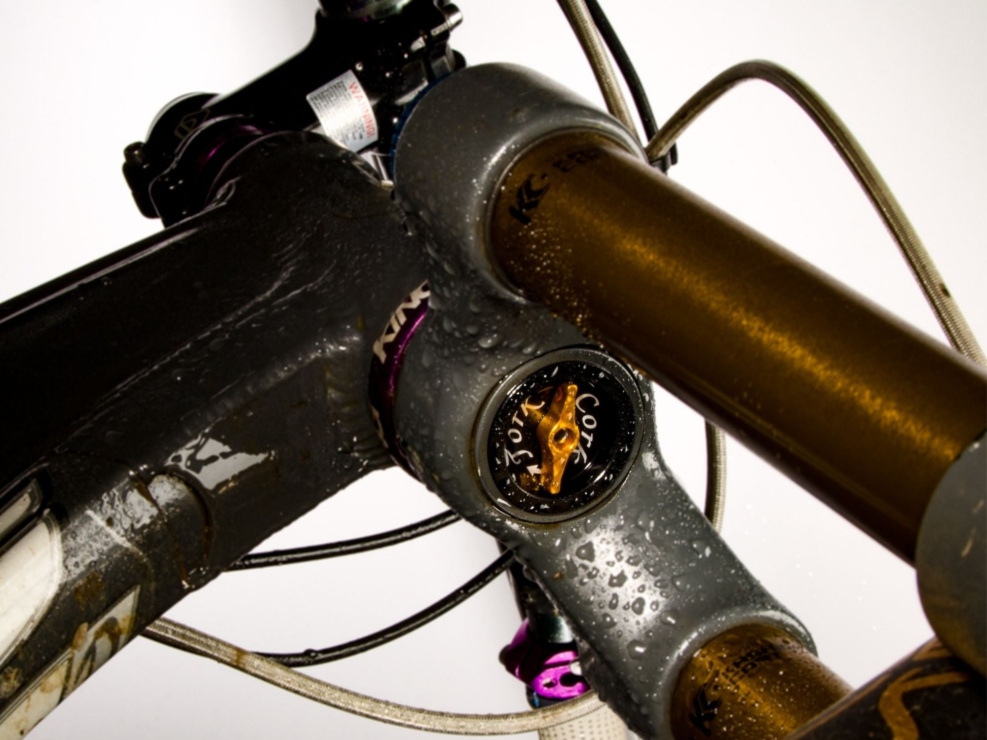 Fork Cork fitted to a Foes Cycle