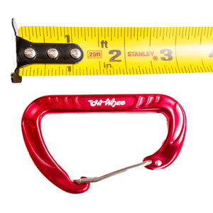 TowWhee Carabiner measured